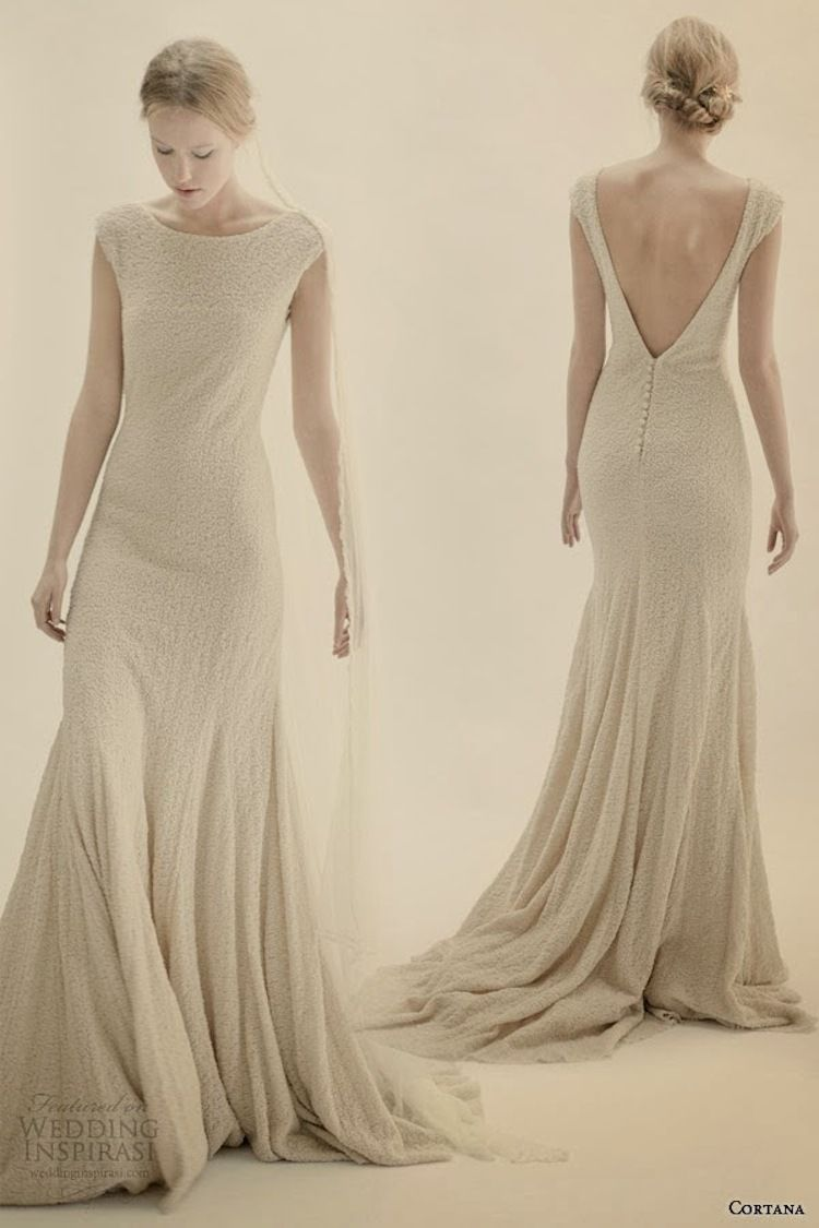 Wool Wedding Dress By Cortana Via Inspirasi