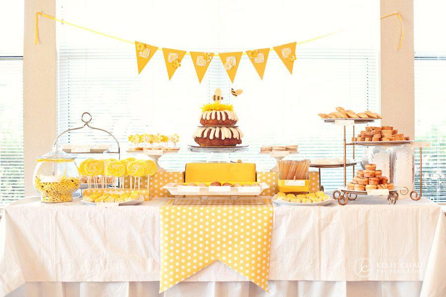 Sunny Honey Bee Inspired Party