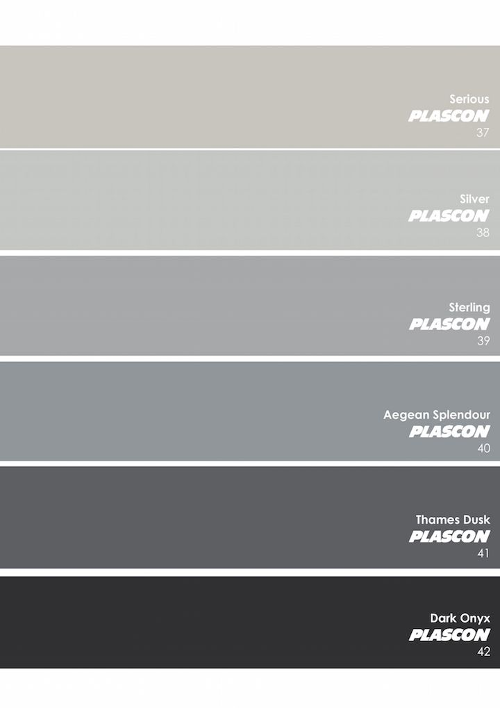 Plascon essential collection the neutrals greys - Trending exterior house colors 2017 ...