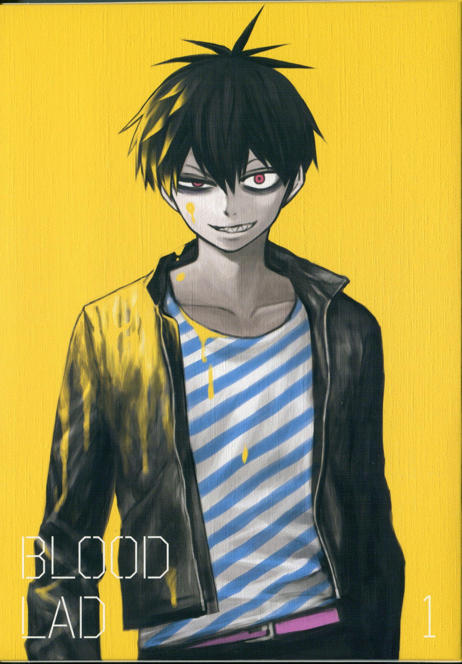 Yuuki Kodama, Brains Base, Blood Lad, Staz, Dvd Cover-9079