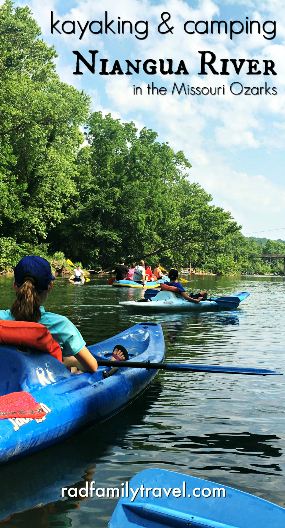 Kayaking & camping along the Niangua River Kayak camping