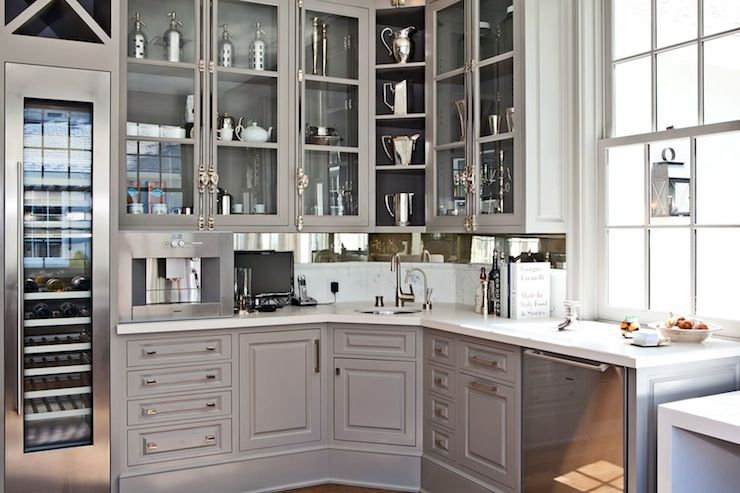 Windsor Smith Homefront Home Grey Kitchen Cabinets