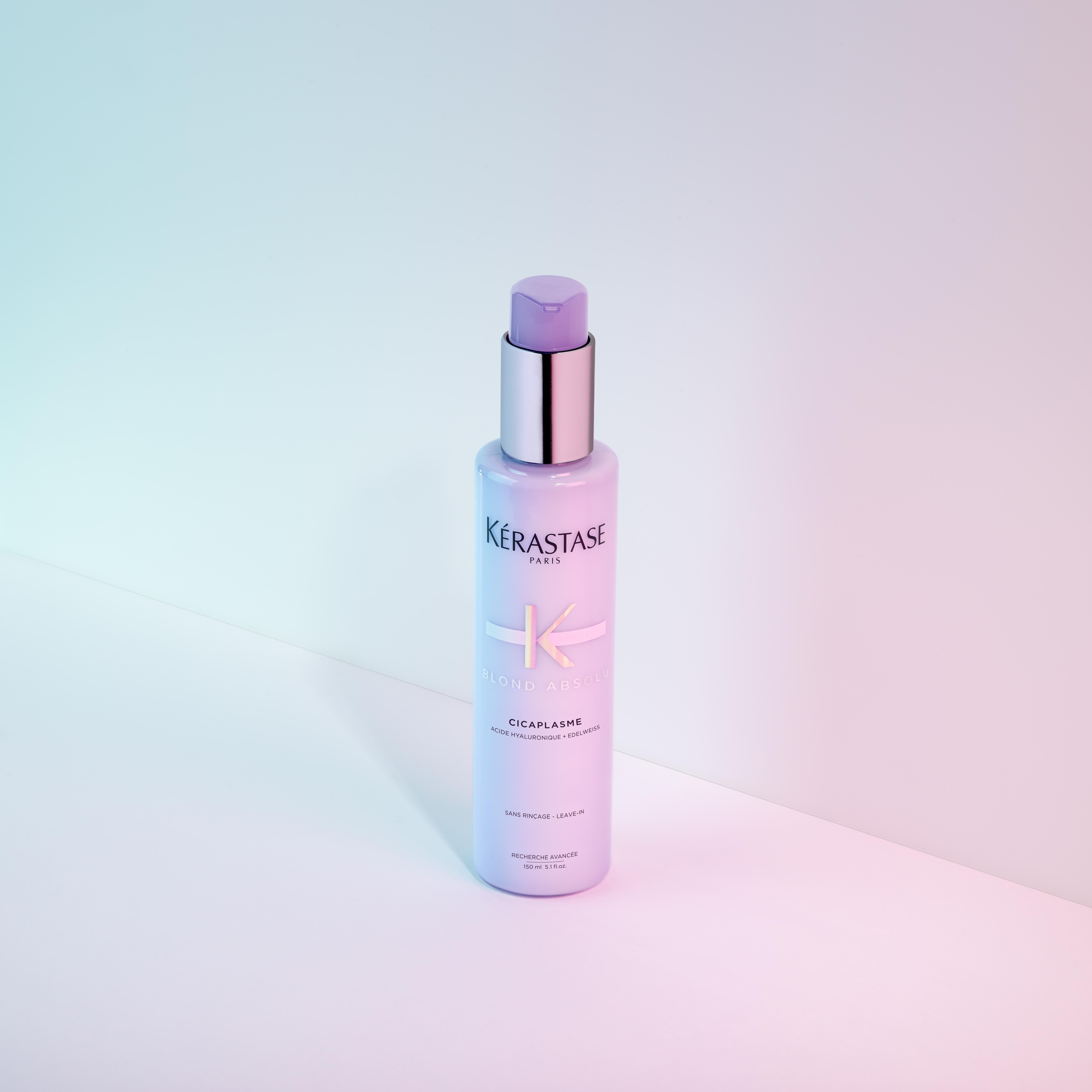 Cicaplasme is a heat protecting serum for blonde hair  It