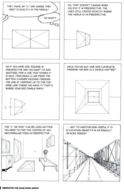 this was super helpful perspective for comic book artists by david