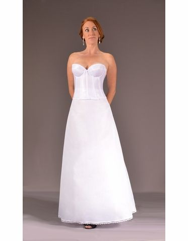 Narrow Bridal Or Bridesmaid Slip Wedding Dress Slips Slip Wedding Dress Dresses Wedding Dresses