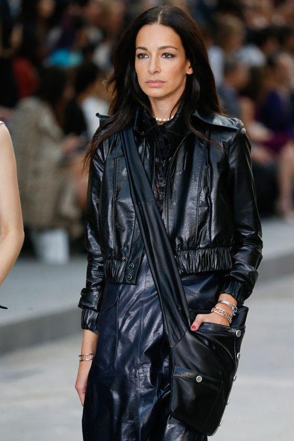 Amanda Sanchez in Chanel Spring 2015 Ready–to–Wear.  SS15  PFW ... 16bcc1052b