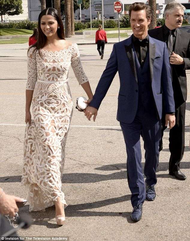 Matthew McConaughey upstaged at Emmys by his wife in see ...