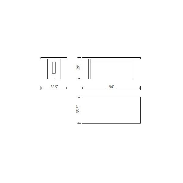 Dining Bench Dimensions