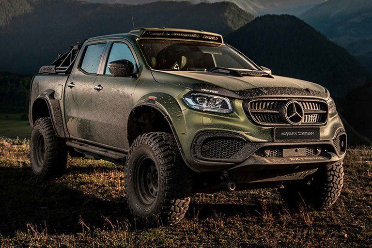 Carlex Design Exy Extreme Mercedes Truck With Images Mercedes