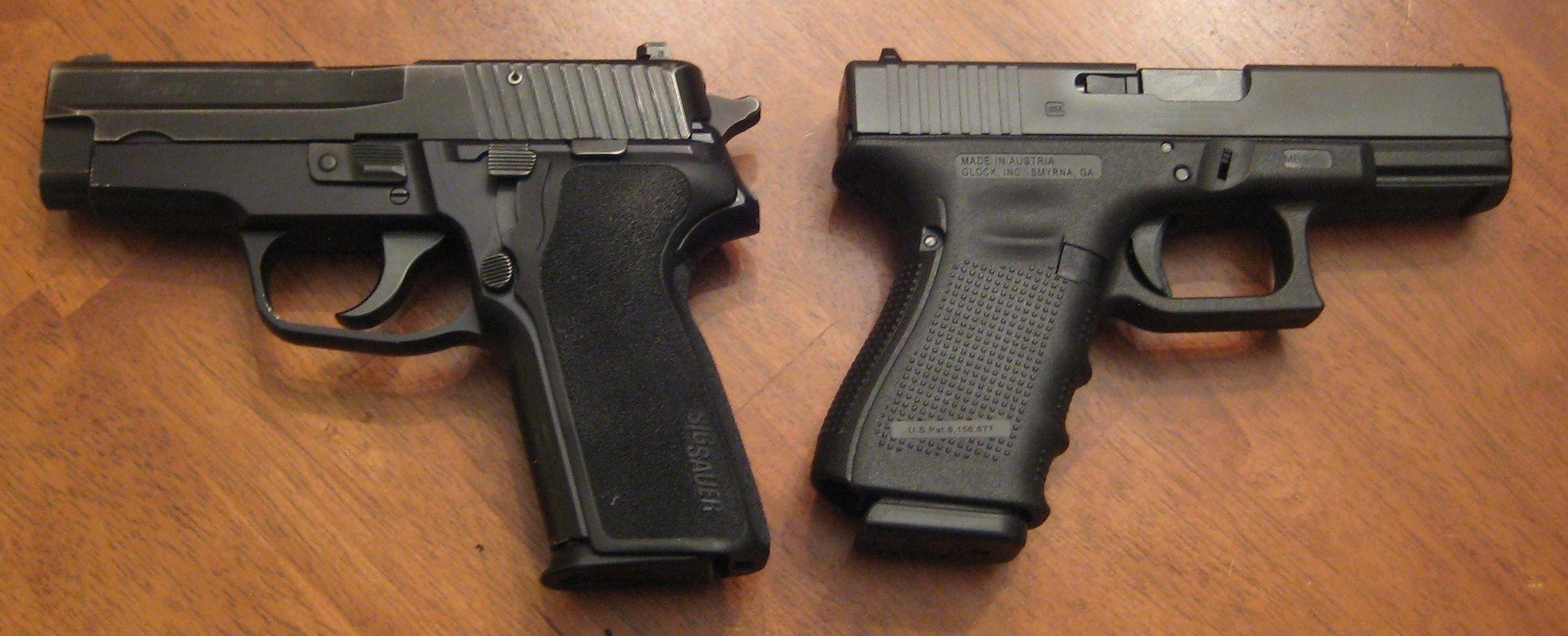 Sig Sauer P228 E2 9mm 15rd vs Glock 19 Gen 4 9mm 15rd - Two best midsized  handguns.