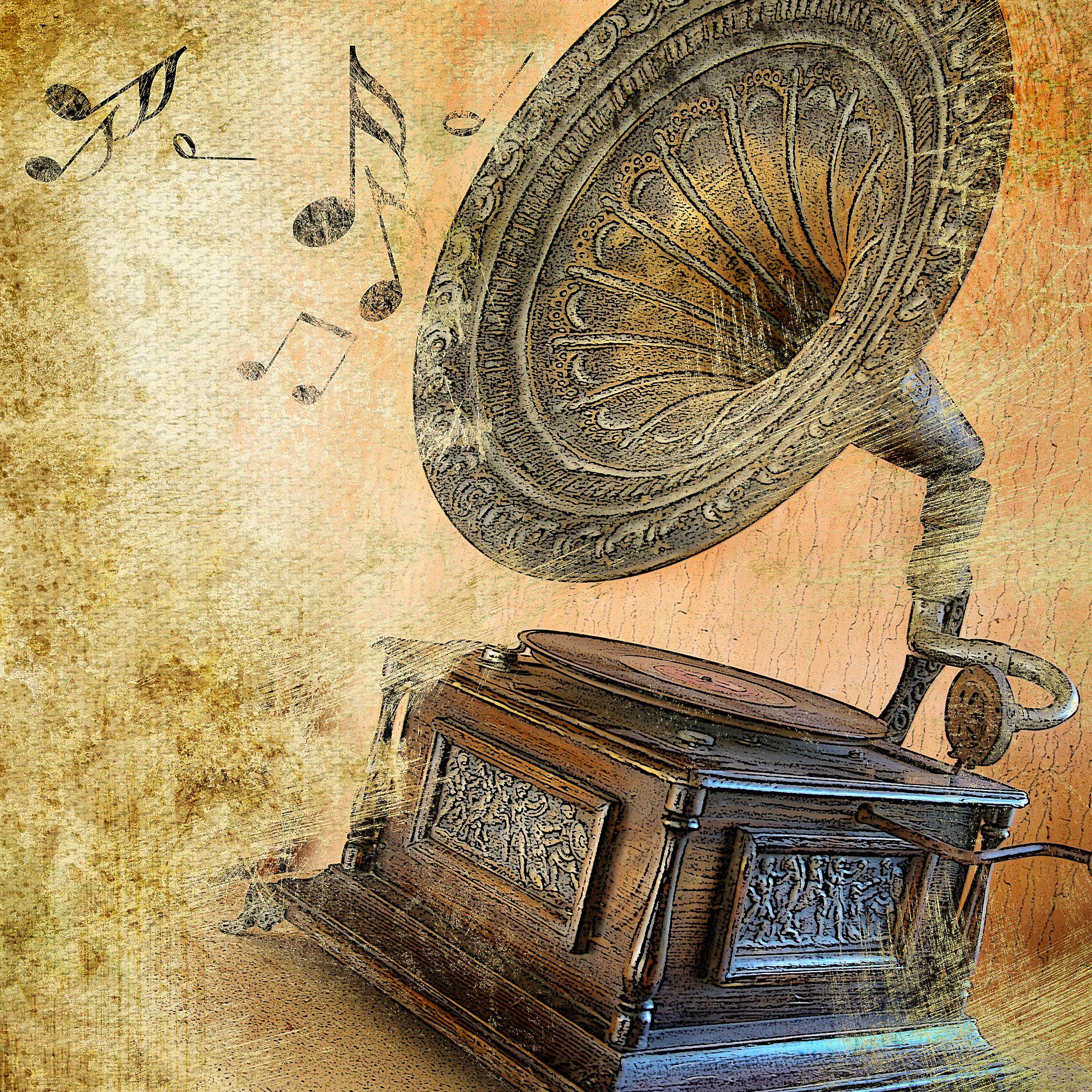 Обои Gramophone, музыка. Музыка foto 15