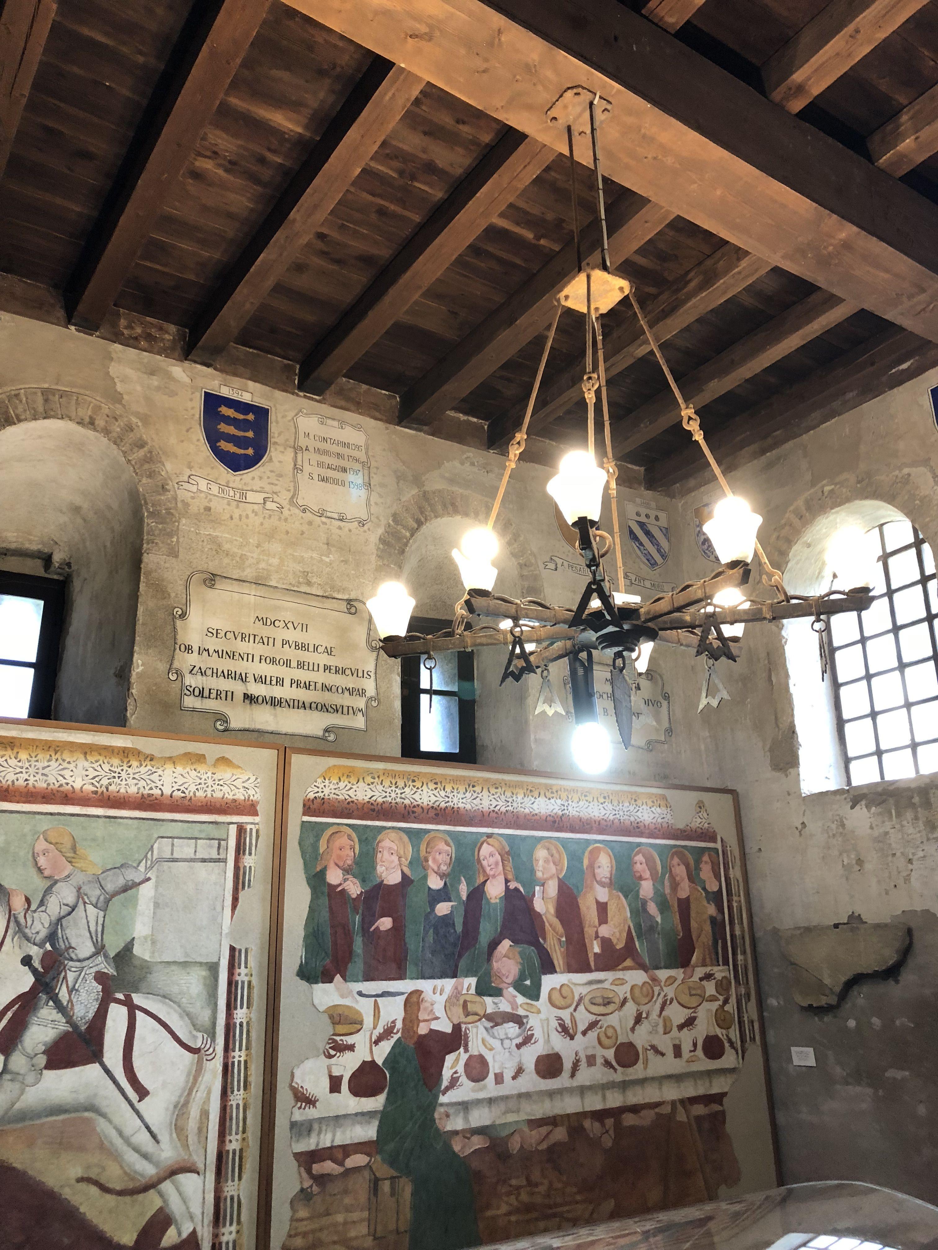 Castle of Conegliano Veneto (TV) , Italy - ( 2018 )