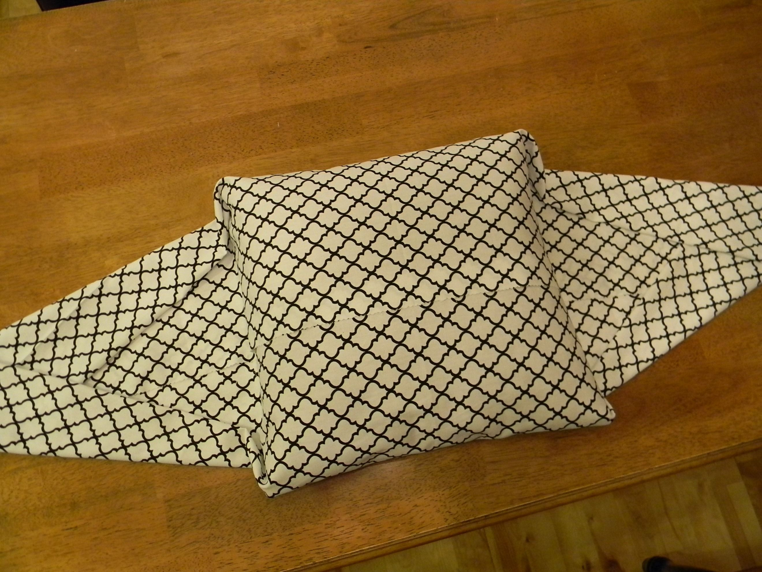 No Sew Pillow Cover...