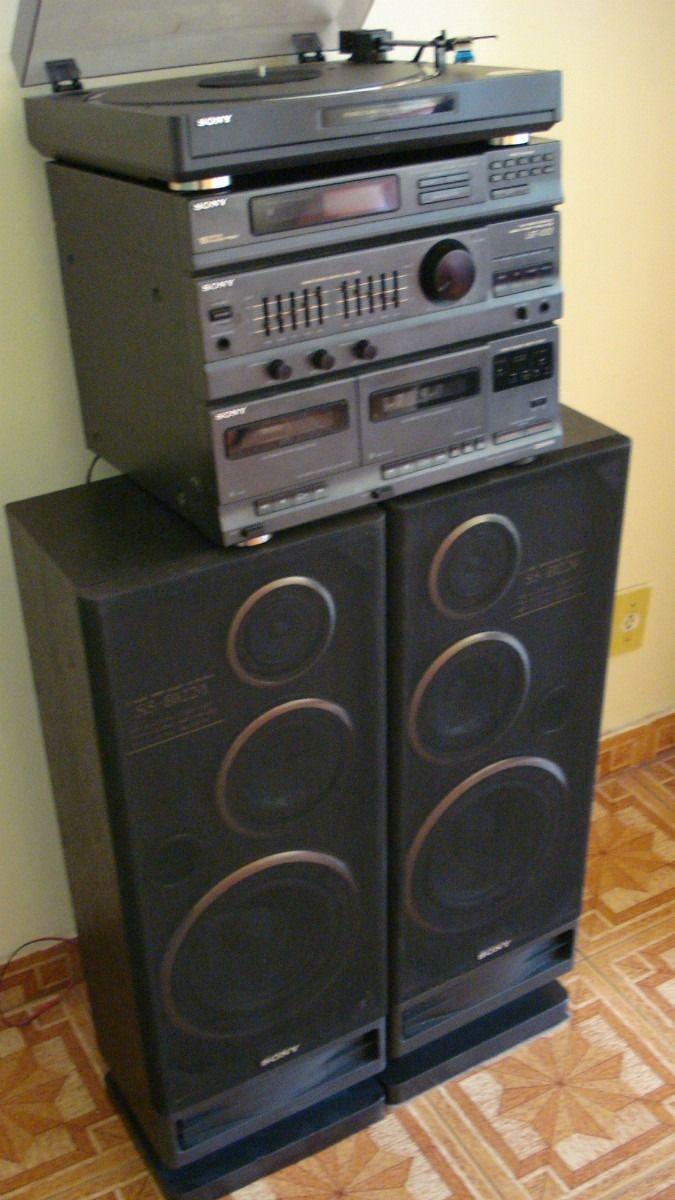 Sony Stereo System Mod Lbt V202 Novissimo E Funcionando R 500