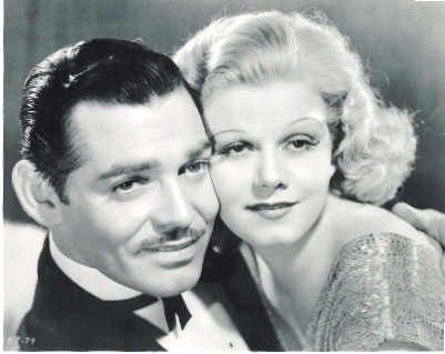 Image result for harlow and gable in saratoga