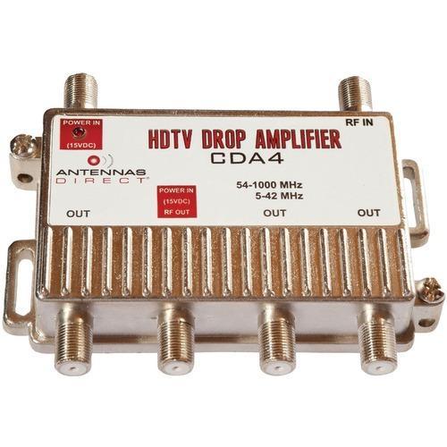 Antennas Direct Output Tv And Cat-5 Distribution Amp (4 Way