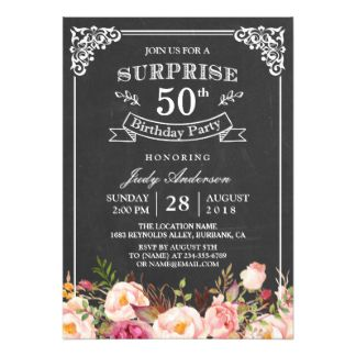 50th birthday invitations announcements zazzle moms60th 50th birthday invitations announcements zazzle stopboris Images