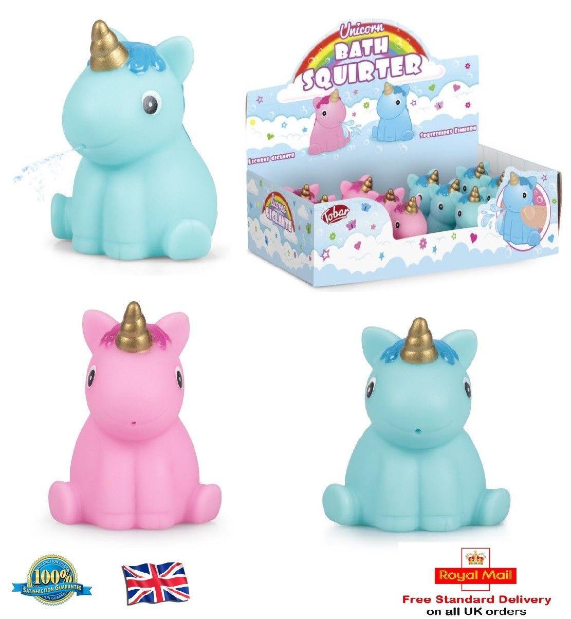 Stocking Filler Gift Fun Kids Light Up Unicorn Bath Time Toy