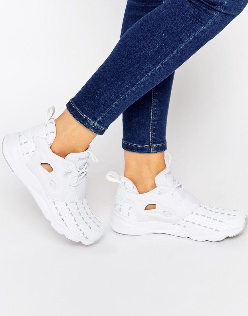 Damen Sneaker Furylite New Woven Sneakers Women Reebok 2OXSiD