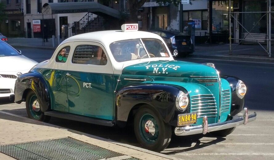 Nyc Police Car 1940 Police Cars Rescue Vehicles