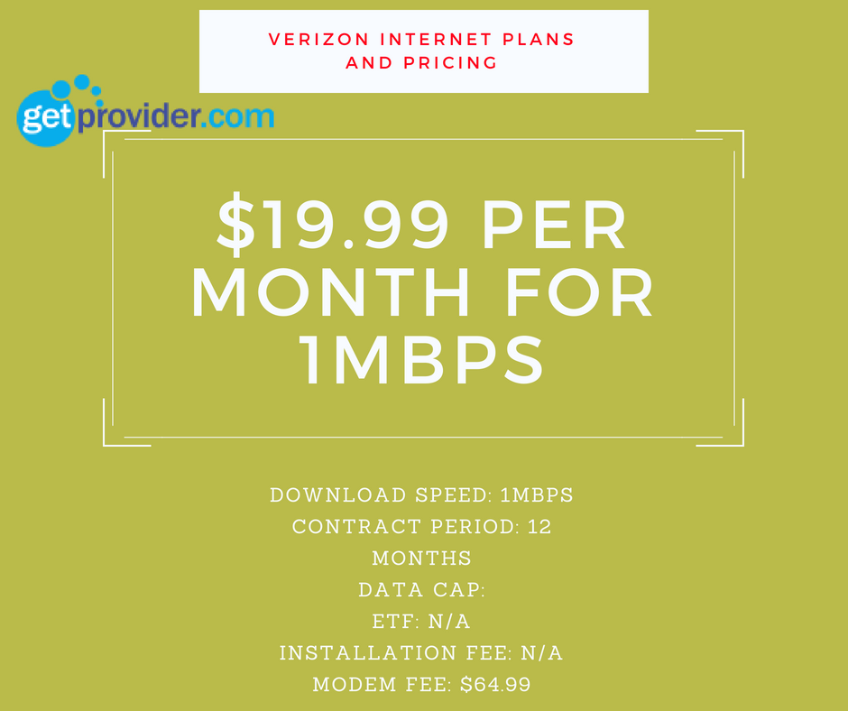 Find the latest Verizon Fios Plans And Pricing
