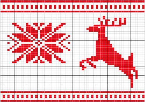 Modèle Tricot Jacquard Norvegien Crochet Stitch Patterns