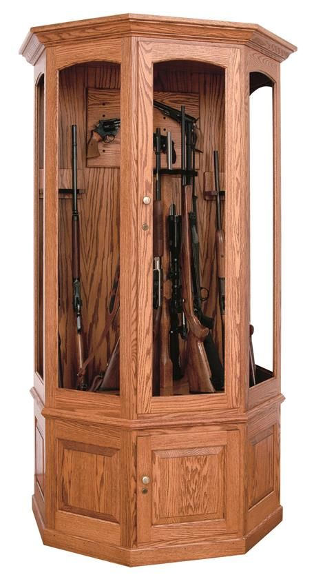 Amish Made Heirloom 16 Gun Cabinet His Hardwood Is Handcrafted To Last Generations And Sure Be The Ultimate For