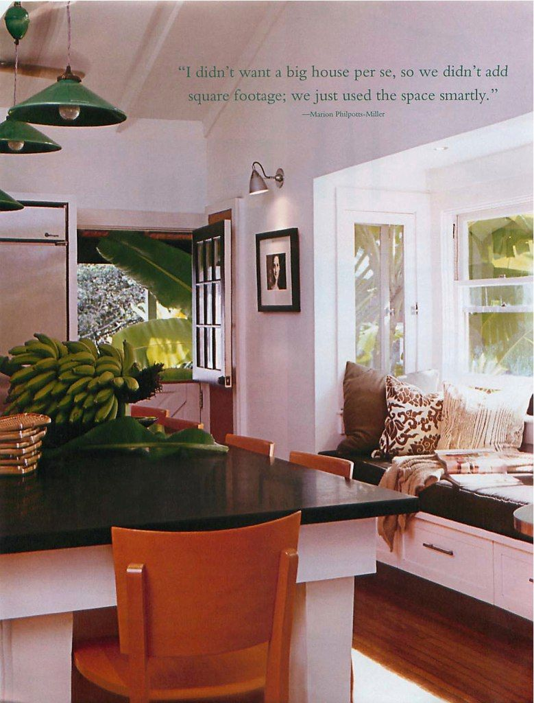 Love the bay window and the relaxed feeling of this ...