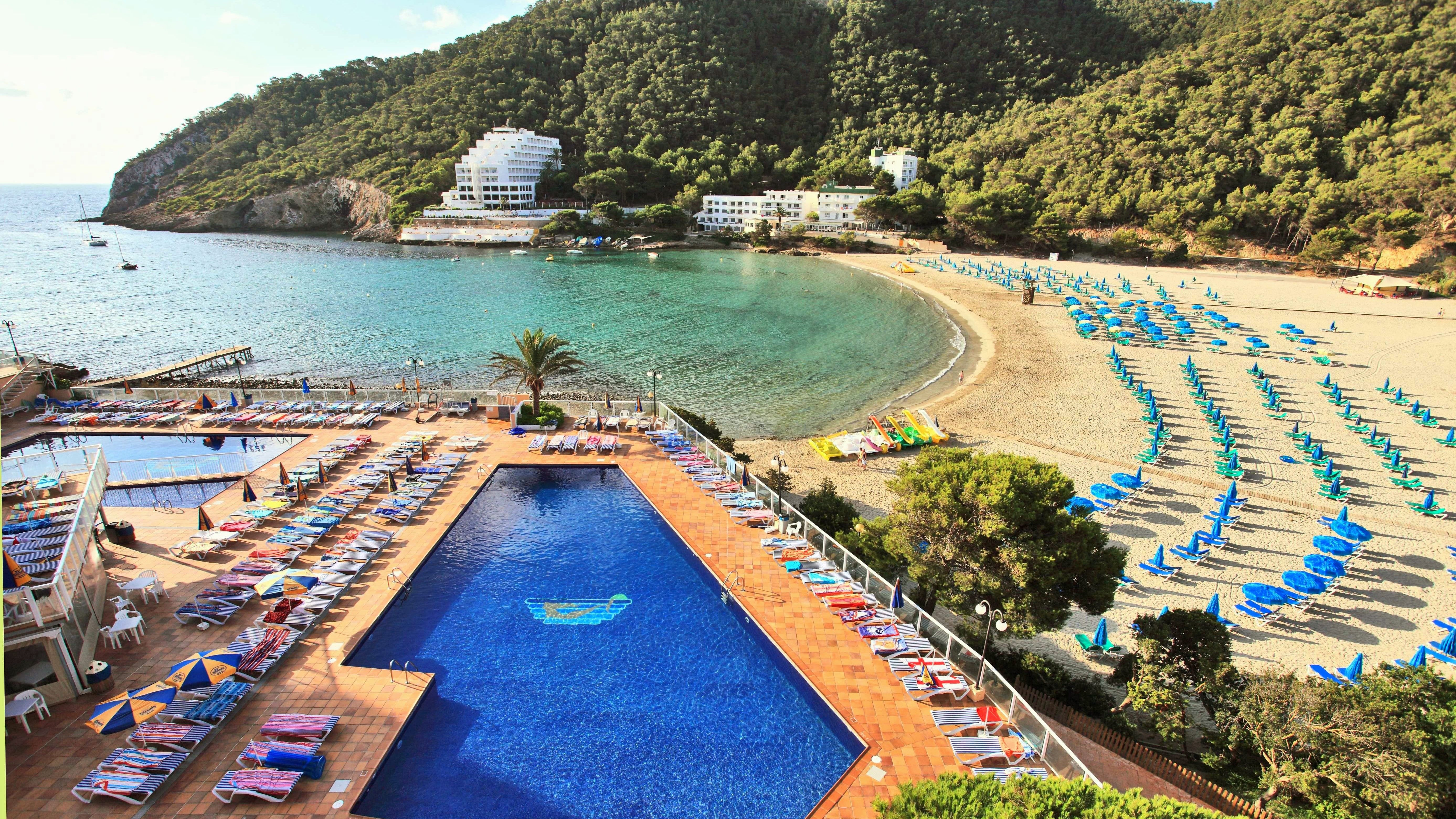 Spain, Balearic Islands, Ibiza, Cala Llonga, Sirenis Cala