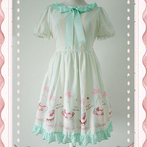#spreepicky #lolitadress #OPdress #creamcake #freeship
