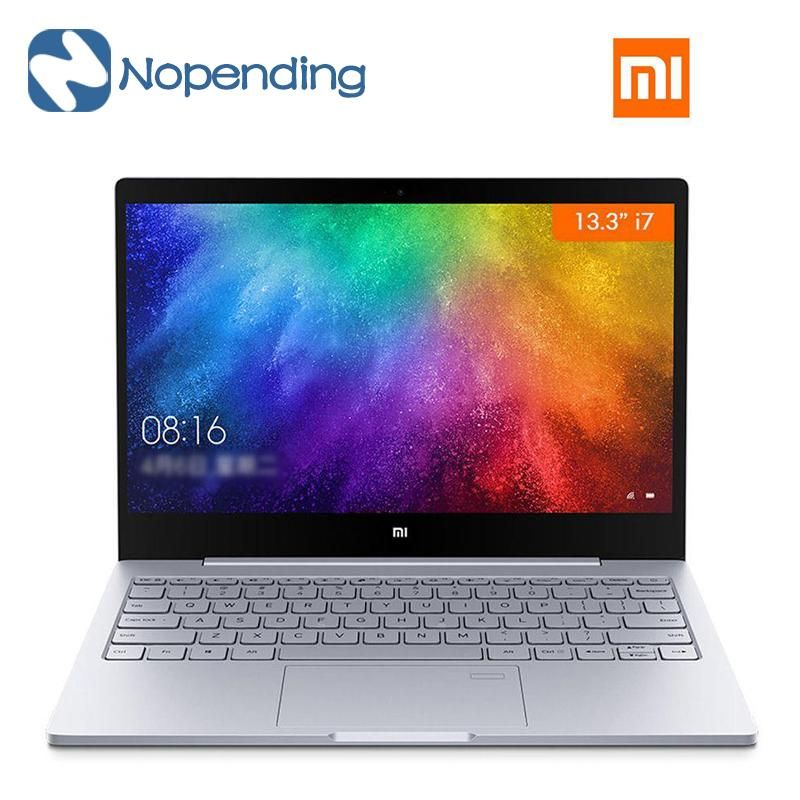 New Original Xiaomi Mi Notebook Air 13 3 Laptop Intel Core I7 7500u 3 5ghz 256gb Nvidia Geforce Windows 10 Fingerprint Usb C Xiaomi Intel Core Laptop Price