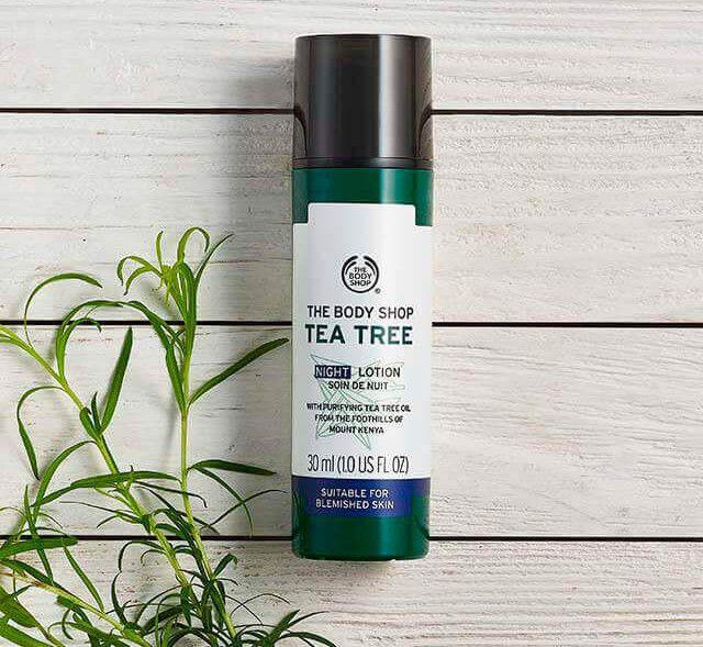 Review The Body Shop Tea Tree Oil Jerawat