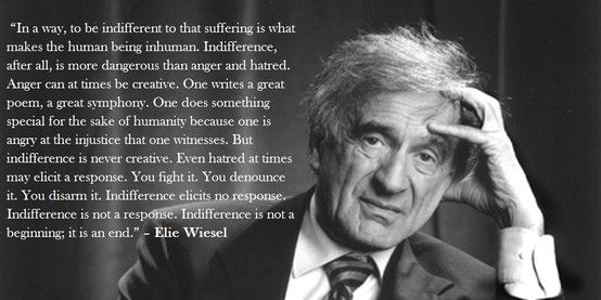 rhetorical devices in elie wiesel acceptance speech