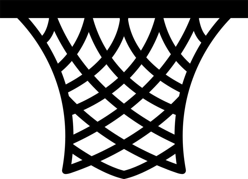 フリーイラスト素材 クリップアート バスケットゴール バスケットリング バスケットボール 球技 スポーツ 白黒 Svg Id 201503072200 バスケットボール バスケットゴール バスケット