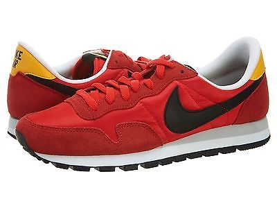 Nike Air Pegasus 83 Mens 599124-608 Red Running Shoes Athletic Sneakers Size 10