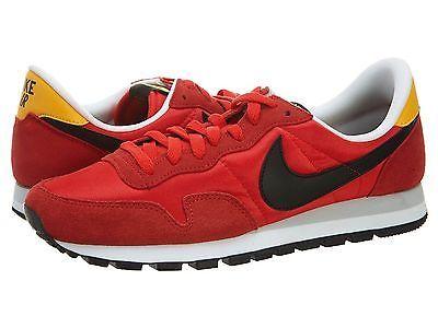 designer fashion e7ec0 eec4e Nike Air Pegasus 83 Mens 599124-608 Red Running Shoes Athletic Sneakers  Size 10