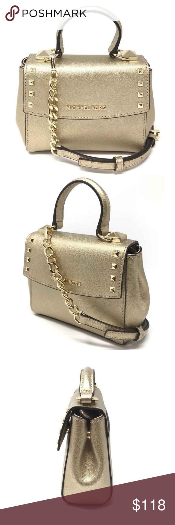 964a5e6e968a Michael Kors Karla Mini Convertible Crossbody Bag Michael Kors Karla Mini  Convertible Top Handle Crossbody Handbag