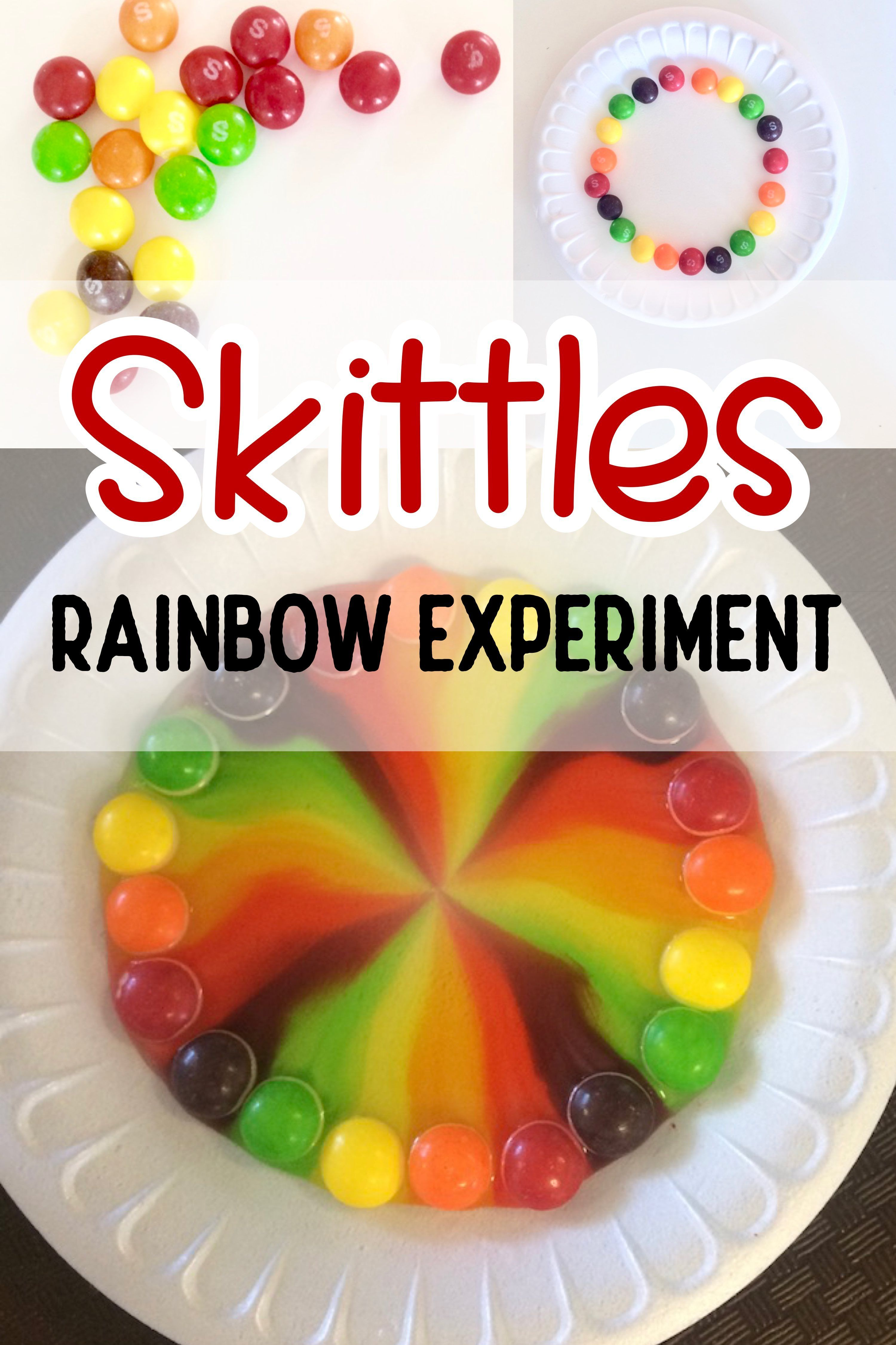 Skittles Science Experiment In