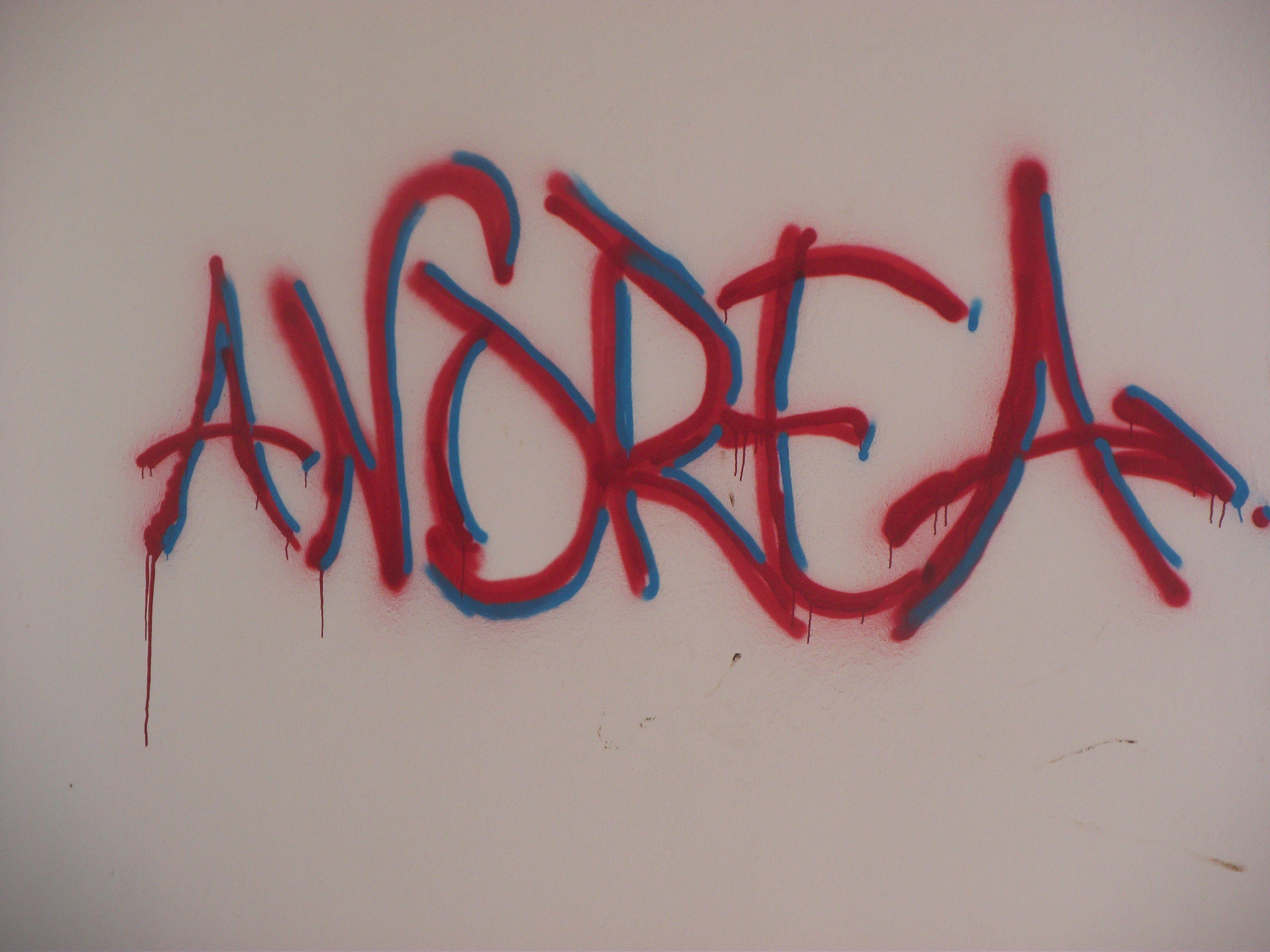 Fuerteventua Andrea Graffiti Andrea S Around The World