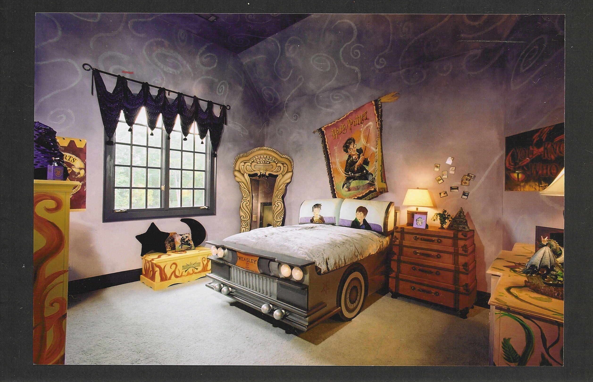 Cool Harry Potter Bedroom Ideas