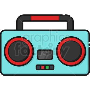 Boombox Radio Icon Clipart Royalty Free Image 409177 Clip Art Cartoon Clip Art Free Cartoons