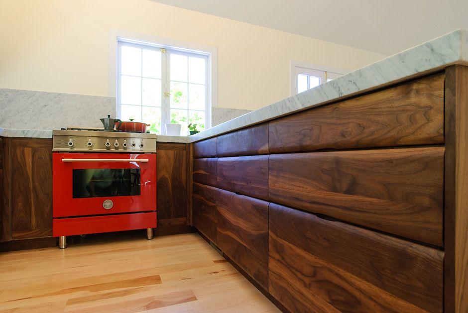 Black Walnut Cabinets Walnut Cabinets Midcentury Modern Cabinet