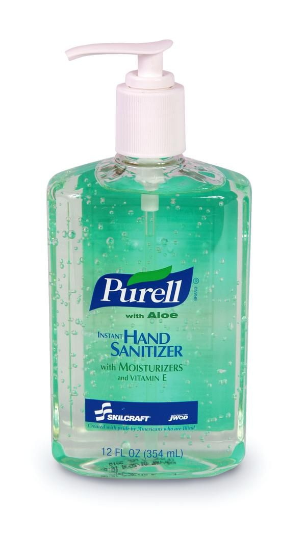 Hand Sanitize In Pump Bottle
