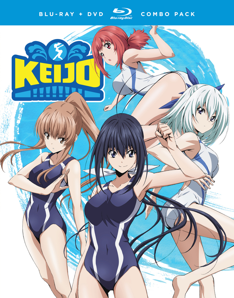Keijo!!!!!!!! The Complete Series [Bluray] Blu ray