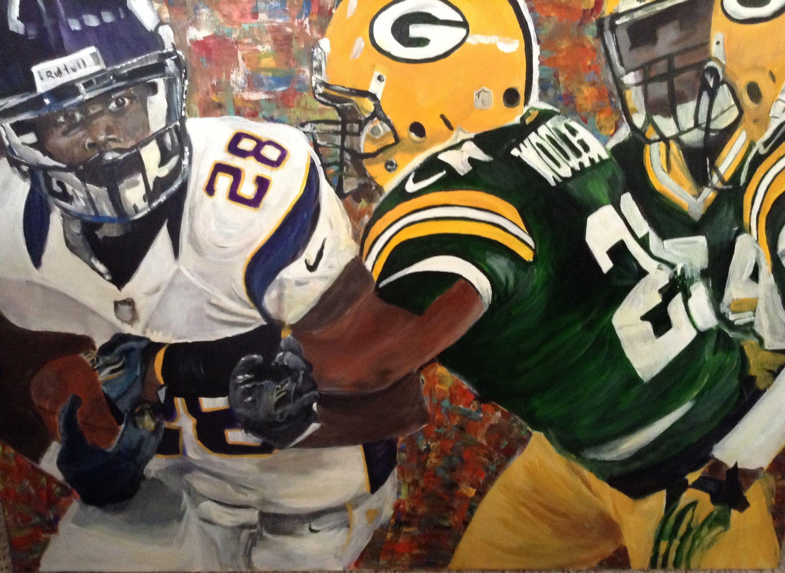 Vikings Versus Green Bay Packers