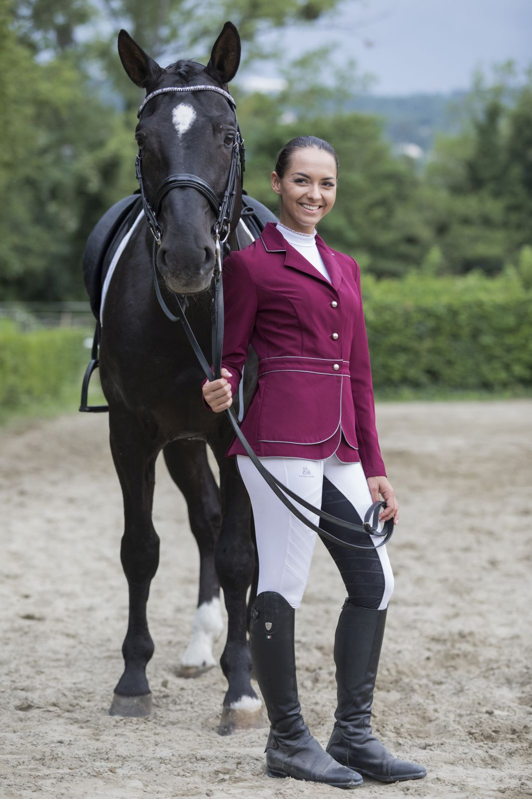 Cavalliera Riding Jacket Prime Equestrian Outfits Riding Jacket Show Jackets [ 1600 x 1067 Pixel ]