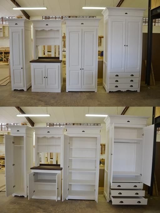 Inside And Out The Broom Cupboard The Coffee Dresser The Grocery Cupboard And The 2 Door Wardrobe Home 2 Door Wardrobe House