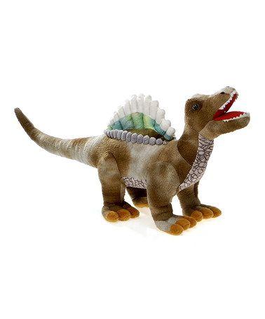 Love this Brown Spinosaurus Plush Toy on #zulily! #zulilyfinds