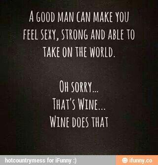 Sorry that's wine