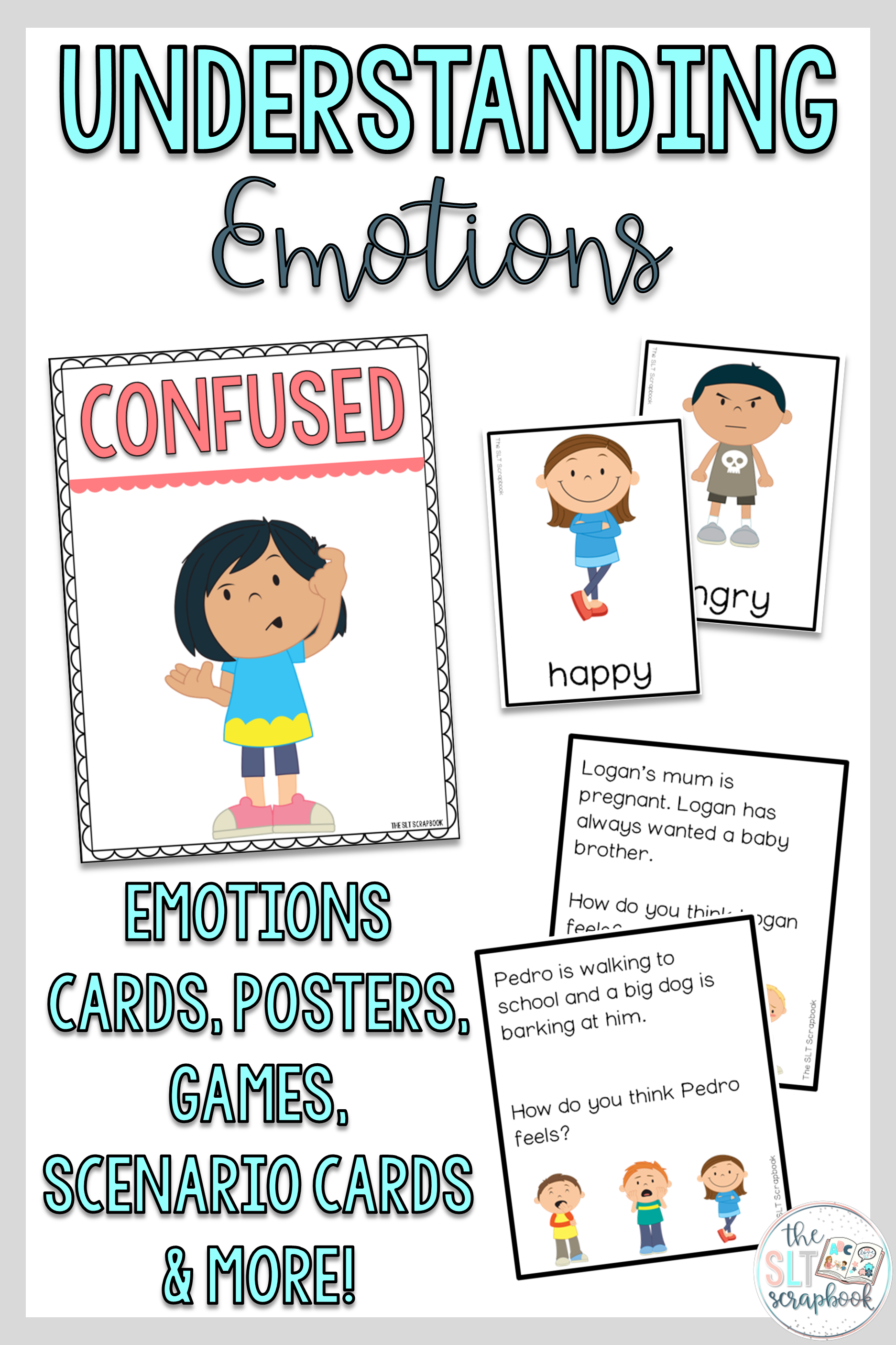 Understanding Emotions Worksheets And Activities For